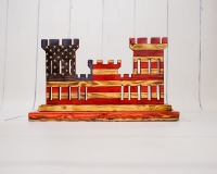 Engineer-Castle-Red,-White,-Blue-Coin-Holder